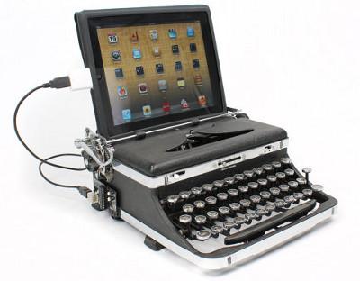 USB-клавиатура из старой печатной машинки