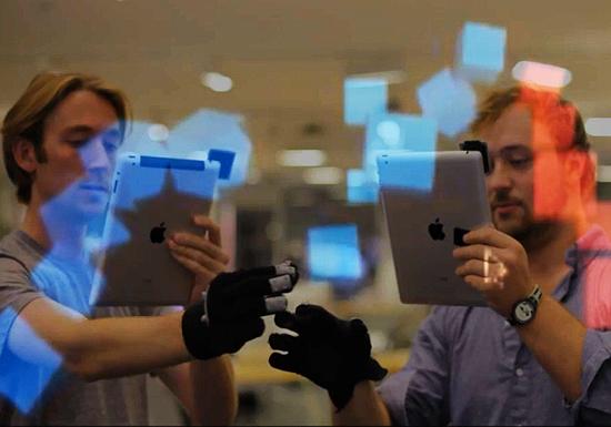 T(ether) позволяет редактировать виртуальные объекты в реальном мире