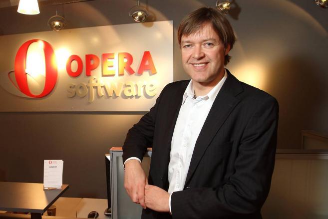 генеральный директор компании Opera Ларс Бойлесен