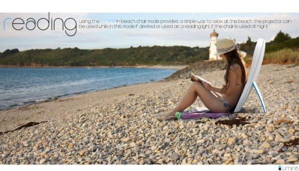 Интерактивный проектор Lumina Beach Chair