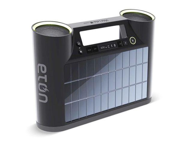 Eton Rukus работающая на солнечной энергии - Bluetooth акустическая система