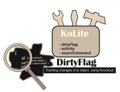 Отслеживание изменений в свойствах Js объекта с использованием dirtyFlag из ...