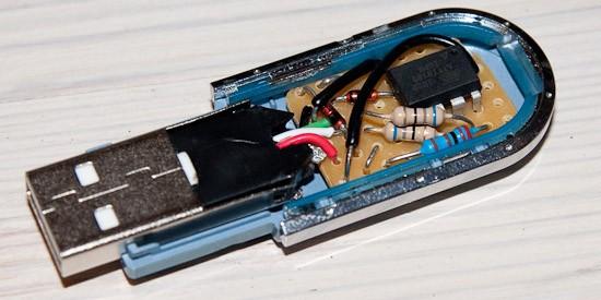 USB запоминатель/генератор паролей спасет от головной боли
