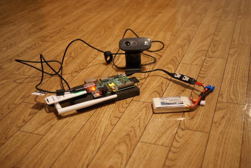 Raspberry Pi  Передача видео для дистанционного управления