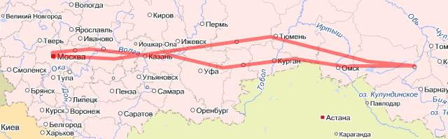 Тур по Москве