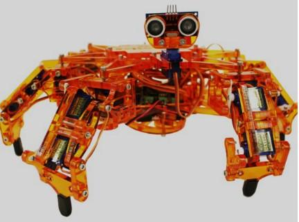 Hexy — сборный робот на основе Arduino