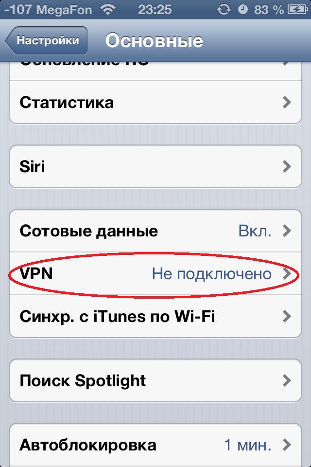 подмена ip адреса на iphone