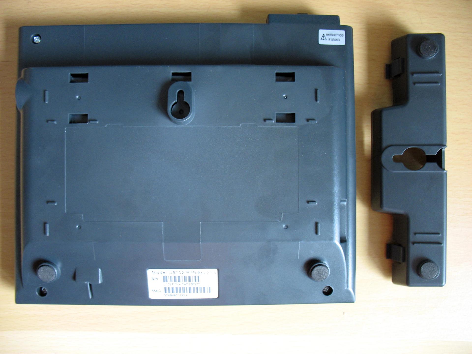 Задняя панель и подставка для крепления телефона к стене