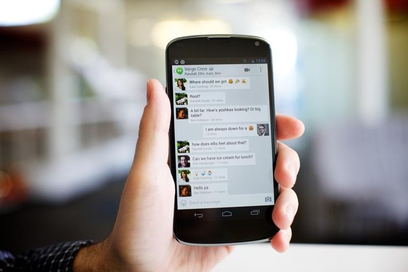 Google представил Hangouts: унифицированный мессенджер для Android, iOS, и  ...