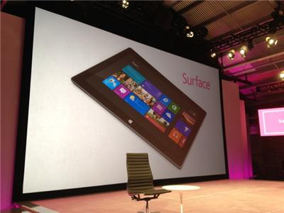 Планшет Microsoft Surface на Windows 8