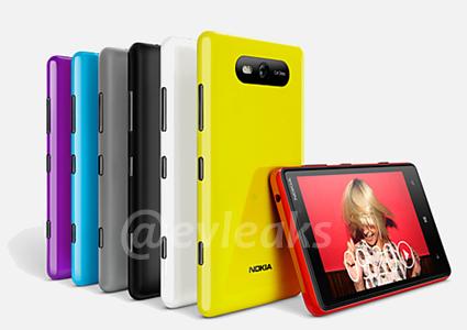 Фото Nokia Lumia 920 и 820