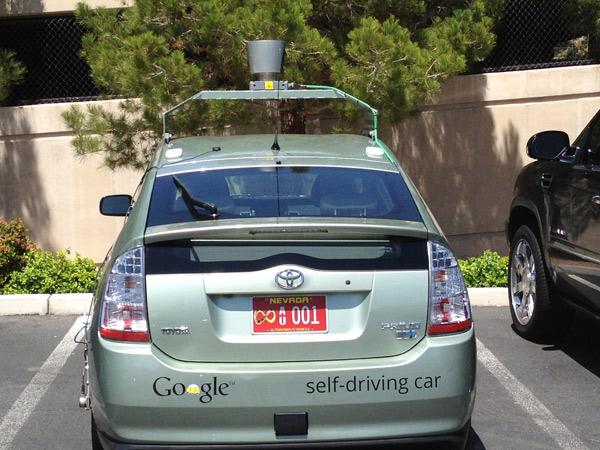 Google получил автомобильную лицензию в Неваде