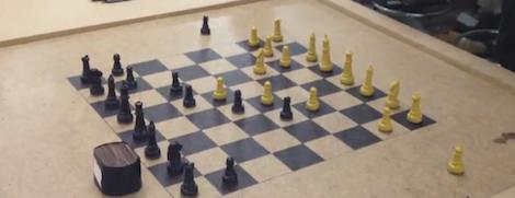 Онлайн-шахматы на реальной доске на основе Arduino