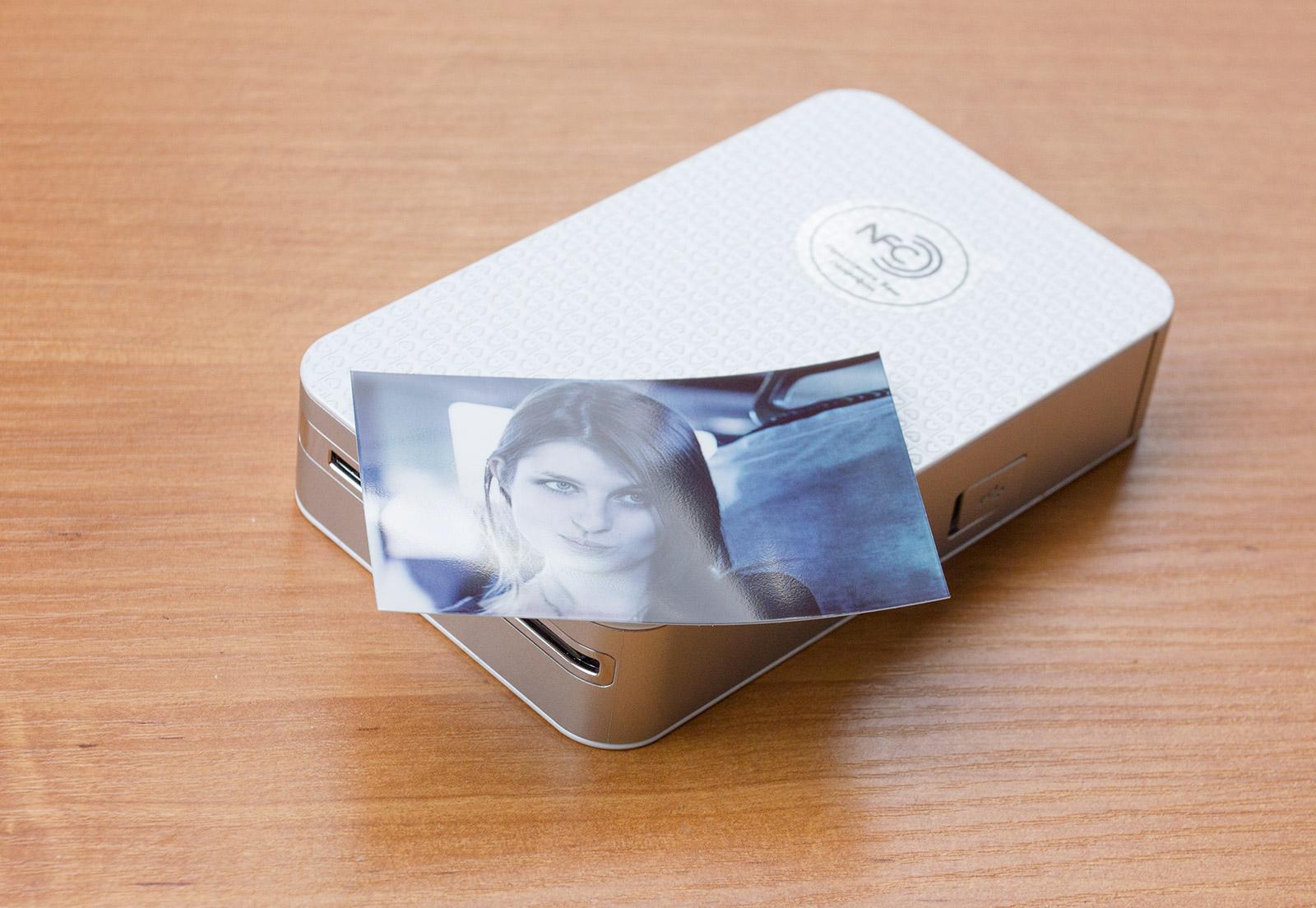 карманный принтер фото с телефона работа