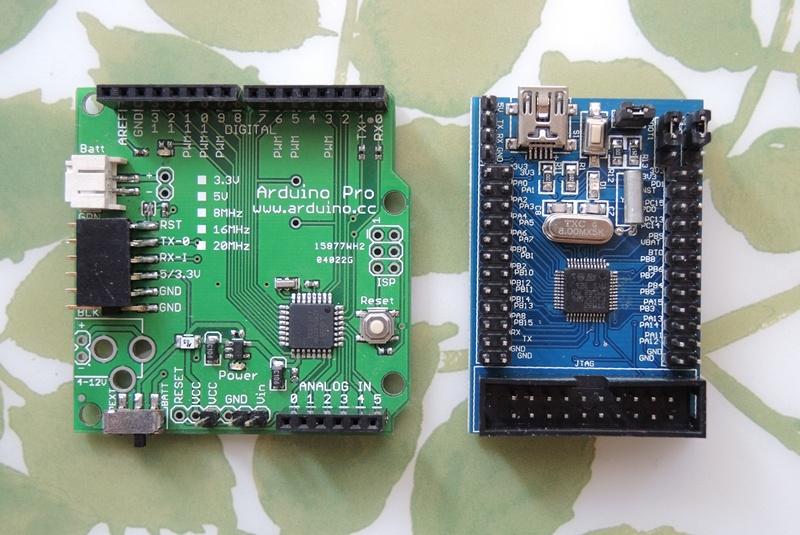 Arduino vs STM32F103C8_r