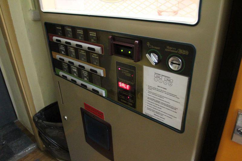 Тараканы в кофейном автомате
