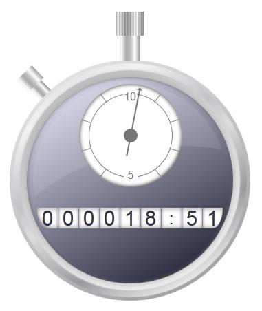 CSS3 timer