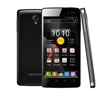 Highscreen выпустил самые дешевые смартфоны с 2- и 4-ядерными процессорами