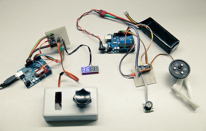 Remote Follow Focus на Arduino