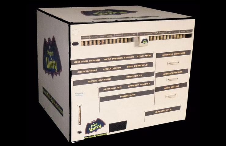 Project Unity: 15 игровых консолей в одной или играем в «теплые ламповые игры»