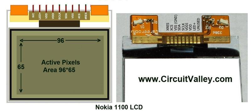 В Nokia 1100 применялся