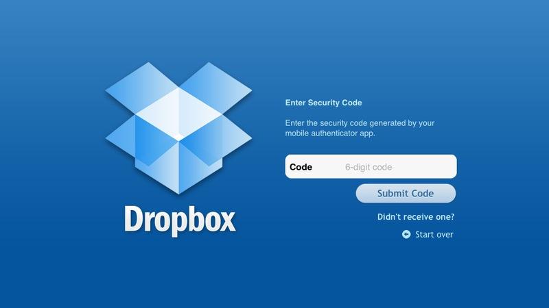 Dropbox обезопасился двухэтапной аутентификацией