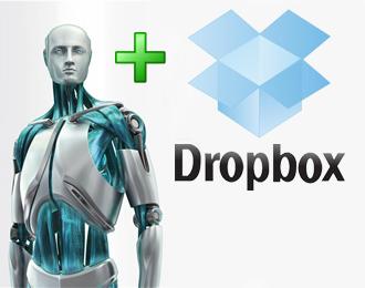Обновление ESET NOD32 Antivirus/Smart Security через Dropbox
