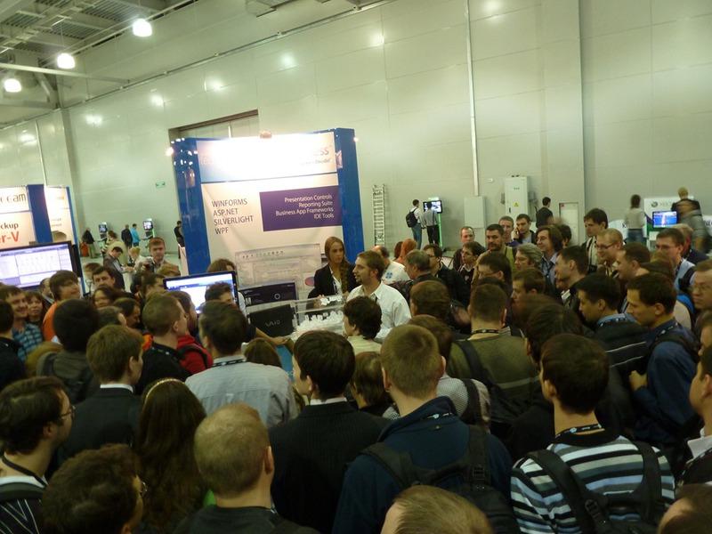 Как это было на TechEd Russia 2011