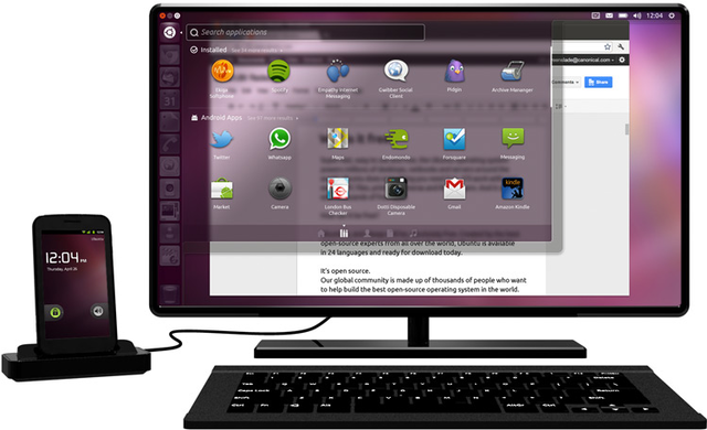 Canonical представила Ubuntu for Android (UPD)