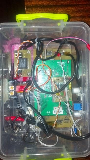 Ультразвуковой датчик и сигнализация.