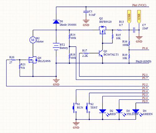 Схема электроотвертки