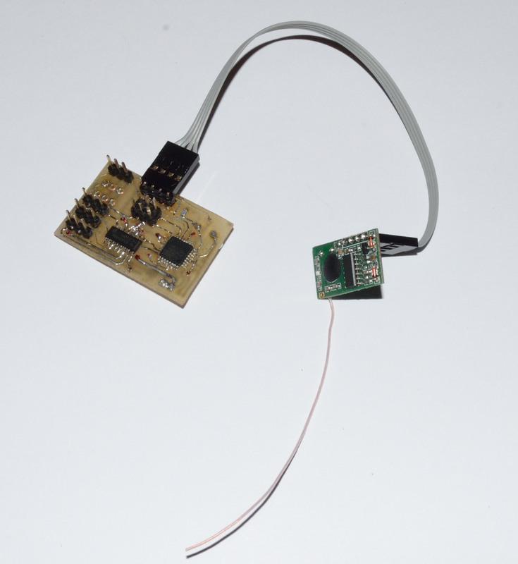 Простое радиоуправление на NRF24L01 PA LNA. Передатчик