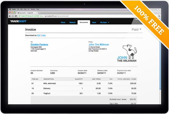 Обзор онлайн сервиса по работе со счетами Tradeshift