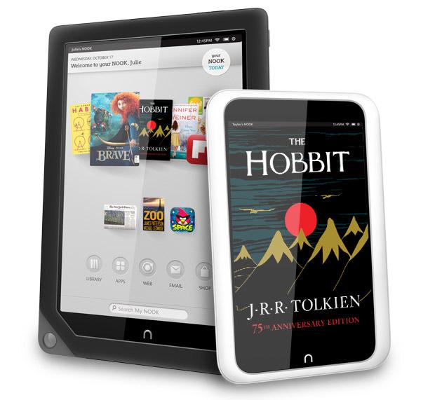 Barnes&Nobles представляет новые планшеты