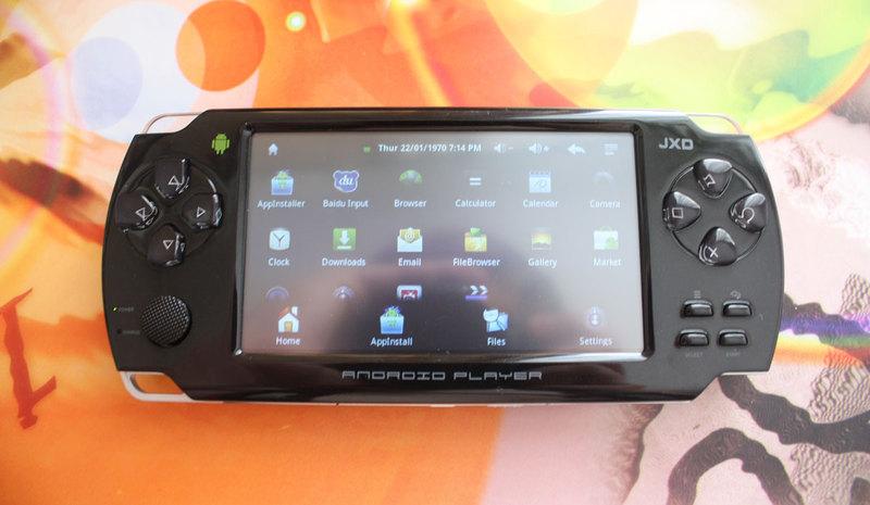 Обзор портативной игровой консоли на базе Android JXD S601