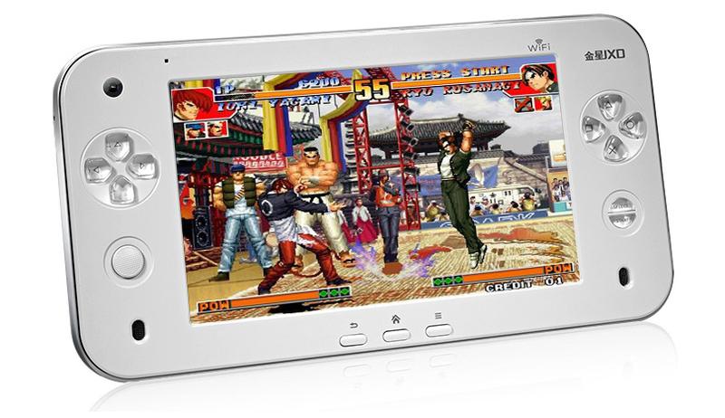 Портативная игровая консоль, планшет JXD S7100 на платформе Android 2.2