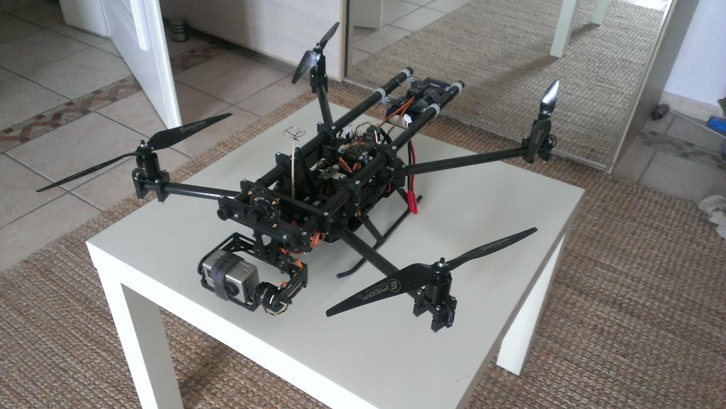 Подвес камеры для квадрокоптера своими руками фото 125