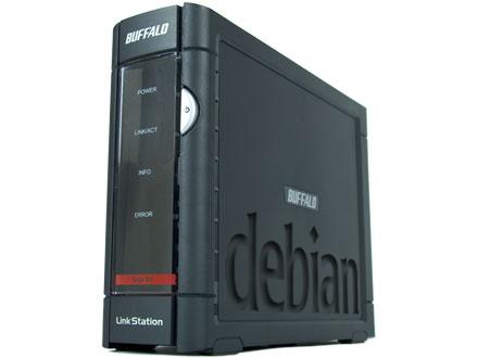 [recovery mode] Установка Debian Wheezy на Buffalo Linkstation Pro