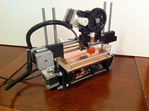 Новый бюджетный 3D принтер