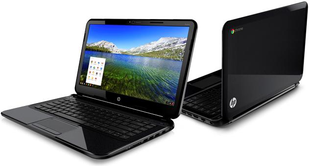 HP выпустила 14-дюймовый Chromebook
