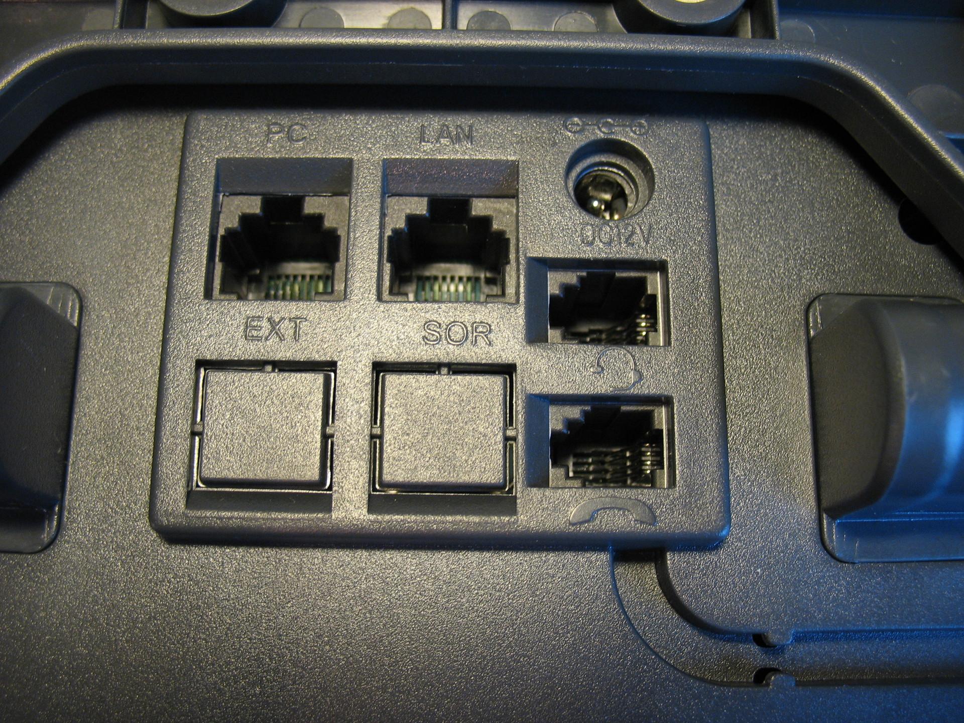 Интерфейсы и разъёмы телефона