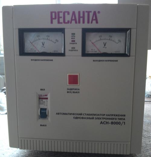 Автоматический стабилизатор напряжения инструкция по применению