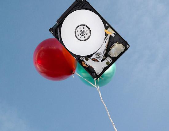 Western Digital заменит воздух в жестком диске на гелий для повышения производительности