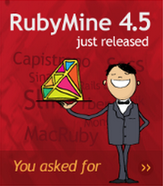 RubyMine 4.5 Just Released