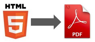 из html в pdf