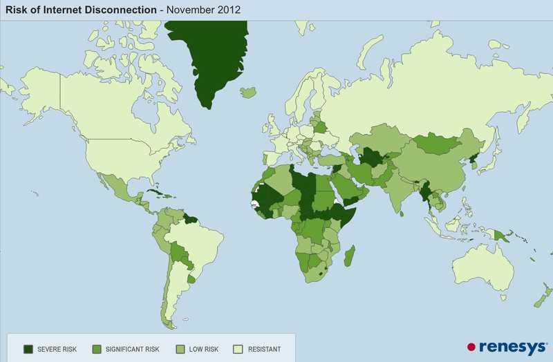 Когда в твоей стране отключат Интернет?