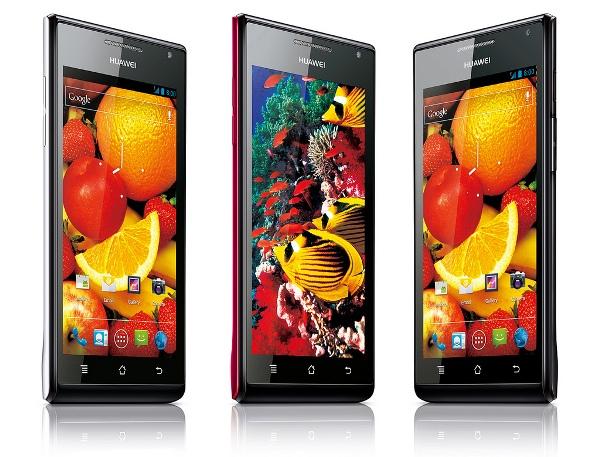 Huawei Ascend P1 & P1 S