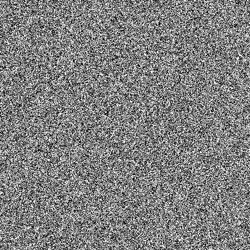 Random bitmap based on atmospheric noise