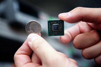 Беспроводные технологии / Intel разрабатывает процессор с беспроводным модулем связи