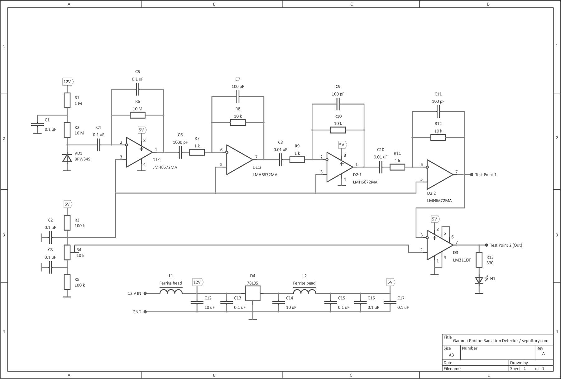 детектор мобильных устройств схема